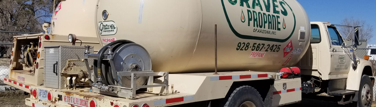 Flagstaff Propane Delivery Truck